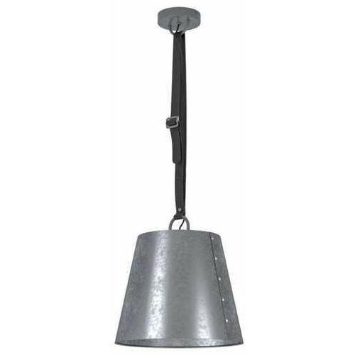 Eglo Chertsey 43405 lampa wisząca zwis 1x60W E27 czarna/szara (9002759434052)