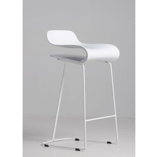 Hoker, krzesło barowe flexi white marki Inspirowane