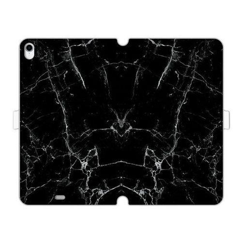 Apple ipad pro 11 - etui na tablet wallet book fantastic - czarny marmur marki Etuo wallet book fantastic