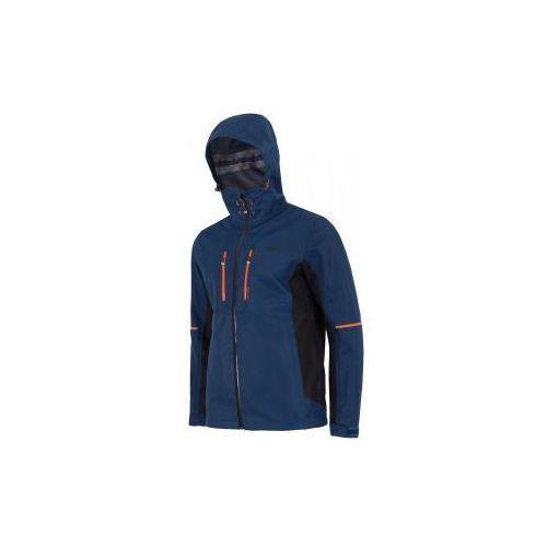 Kurtka męska trekkingowa 4F H4L17- KUM007 - granatowy, kolor niebieski