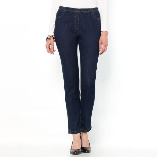 Jeansy denim stretch, krój zwężany