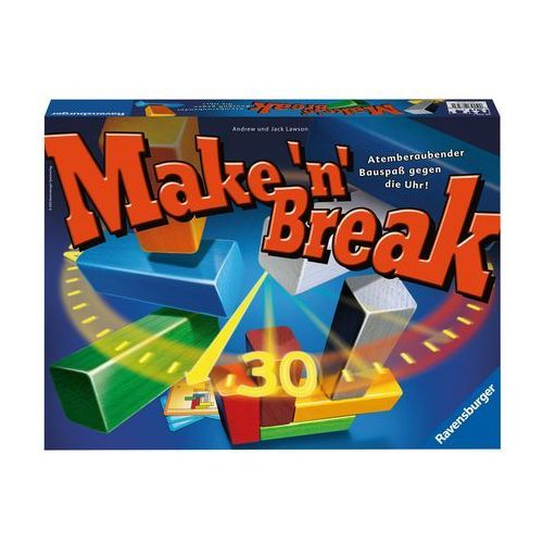Ravensburger , gra zręcznościowa make & break (4005556263677)