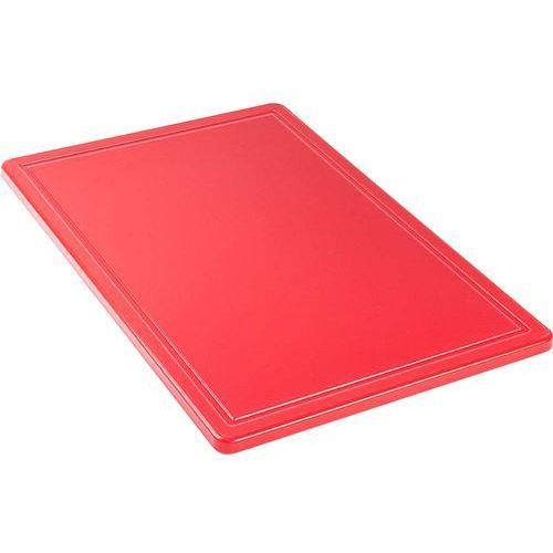 Stalgast Deska do krojenia 600x400x18 mm czerwona 341631