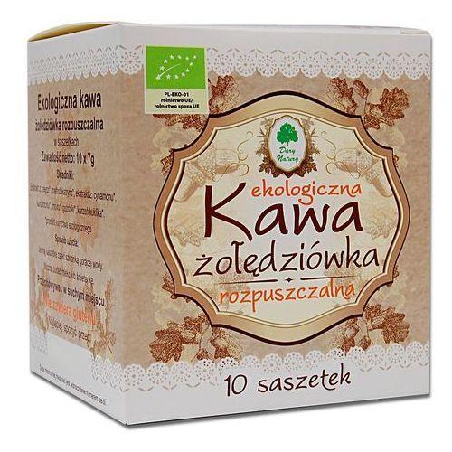 Dary natury - inne bio Kawa żołędziówka rozpuszczalna w saszetkach bio 70 g (10 x 7 g) - dary natury (5902741002402)