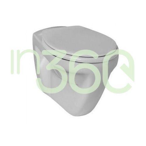 eurovit plus miska wc wisząca z półką biała v340301 marki Ideal standard