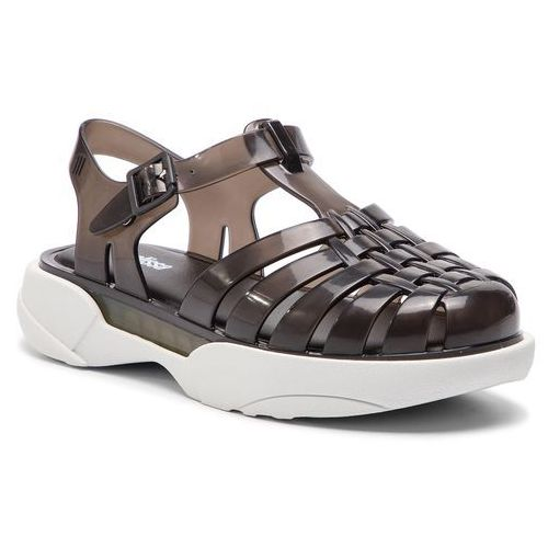 Sandały MELISSA - Possession Platform Ad 32508 Black/White 51588, kolor czarny