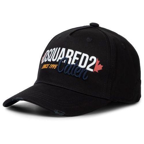 Czapka z daszkiem - other cargo baseball caps bcm0250 05c00001 2124 nero marki Dsquared2