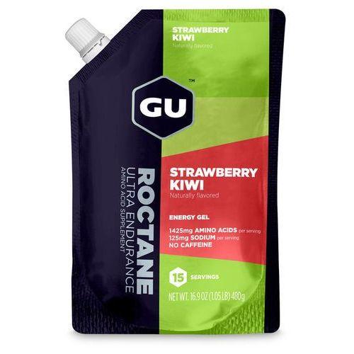 Gu energy roctane gel żywność dla sportowców strawberry kiwi 480g 2018 żele i smoothie (0769493102102)