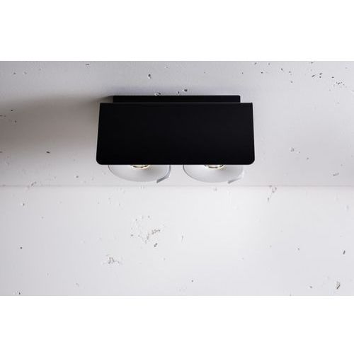Labra Layer 2 open edge.led 2x7.5w 12d, czarny-biały (4055728149476)