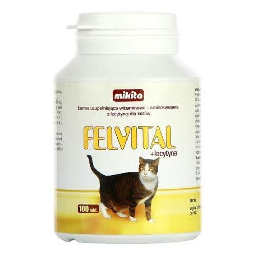 Mikita felvital + lecytyna - preparat witaminowy z lecytyną dla kotów 100tab. (5907615401053)