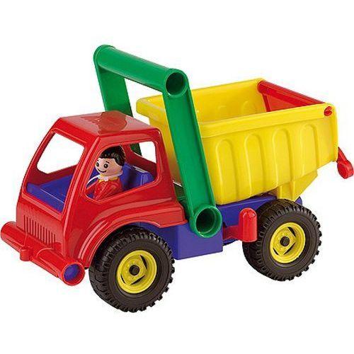 Kolorowa wywrotka mała, pojazd, 27 cm