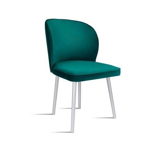Krzesło rino zielony/ noga silver/ so260 marki B&d