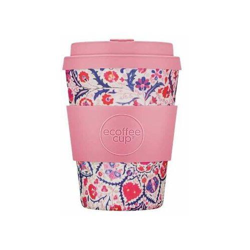 Ecoffee cup Kubek z włókna bambusowego i kukurydzianego papa rosa 350 ml -