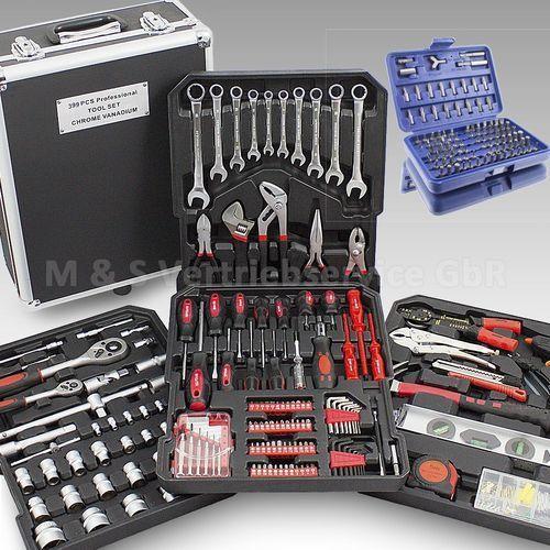 Eu-trade Duży zestaw narzędzi 499 el. klucze+walizka 14490