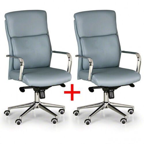 B2b partner Krzesło biurowe viro 1+1 gratis, szary