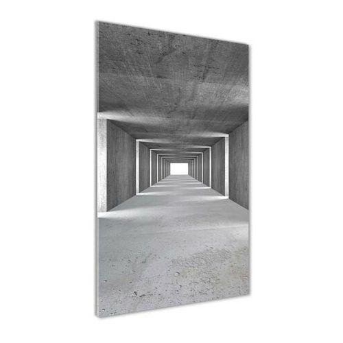 Foto obraz akryl do salonu Betonowy tunel