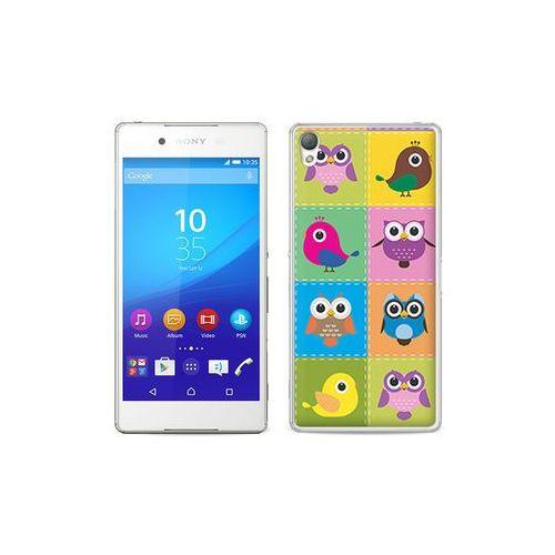etuo Fantastic Case - Sony Xperia Z3+ - etui na telefon Fantastic Case - kolorowe ptaszki, ETSN197FNTCFC041000