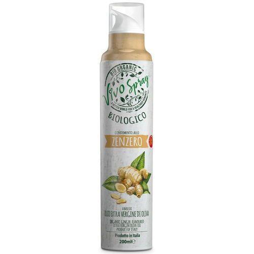 Vivo spray Oliwa z oliwek extra virgin o smaku imbiru bio spray 200 ml -