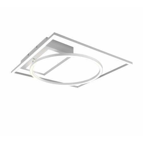 Trio downey 620510331 plafon lampa sufitowa 1x33w led biały