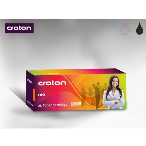 Croton Toner Oki 43979202 Black 7k - zamiennik - B430/ B440/ MB460/ MB470/ MB480