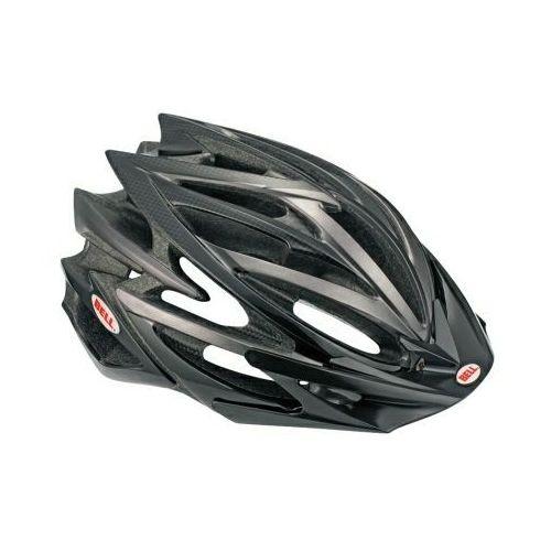 volt - kask rowerowy (czarny-carbon) marki Bell