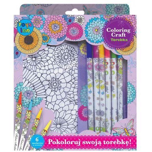 Stnux Torba kwiaty + 6 markerów (5901583293405)