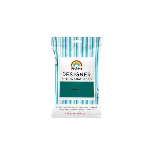 Tester farby designer kitchen & bathroom 50 ml vibrant marki Beckers