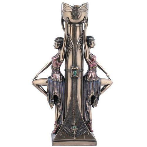 Veronese Świecznik z kobietami w stylu art deco (wu74867a4)