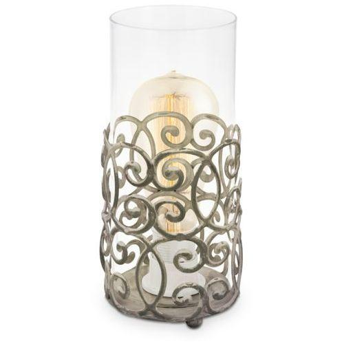 Lampa stołowa Eglo Vintage 49274 lampka oprawa 1x60W E27 patyna