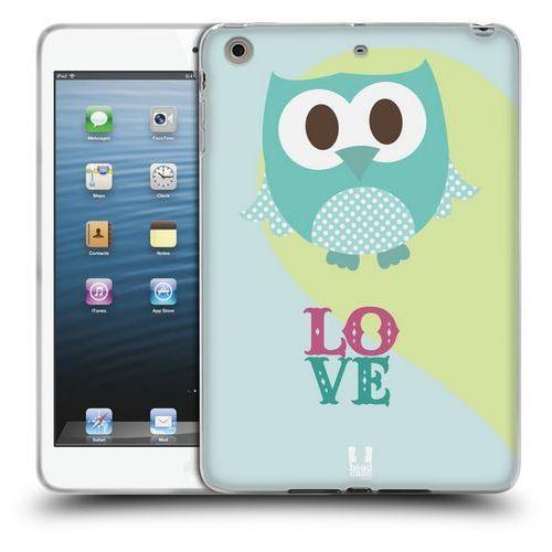 Etui silikonowe na tablet - kawaii owl blue love od producenta Head case