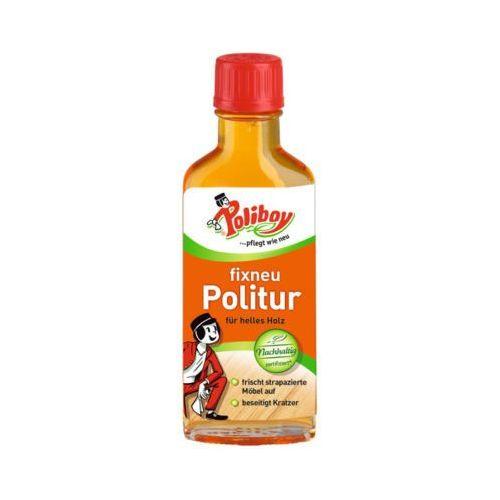 100ml fixneu politur hell środek do czyszczenia i pielęgnacji jasnych mebli marki Poliboy