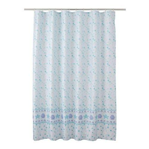 Zasłonka prysznicowa kololi 180 x 200 cm marki Cooke&lewis