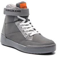 Sneakersy jeans - nigel reflex nylon s1773 silver marki Calvin klein