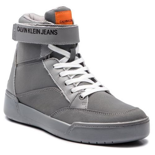 Sneakersy - nigel reflex nylon s1773 silver, Calvin klein, 40-46