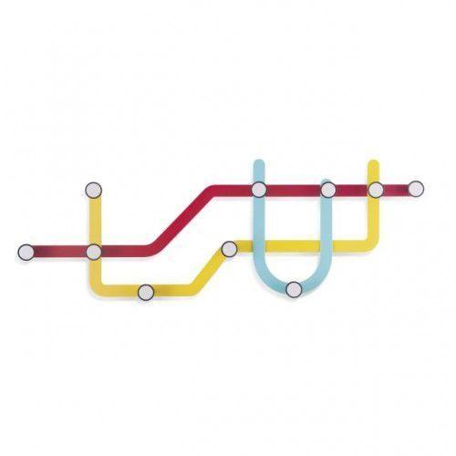 Wieszak Subway multikolor