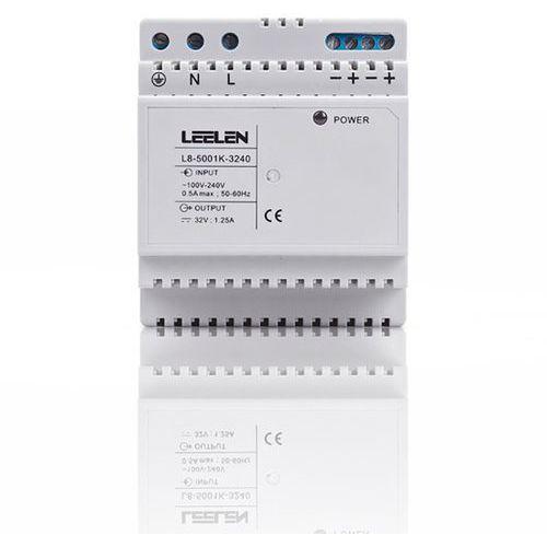 Leelen zasilacz 32vdc na szynę din (jb-5000) l8-3240 - autoryzowany partner leelen, automatyczne rabaty.
