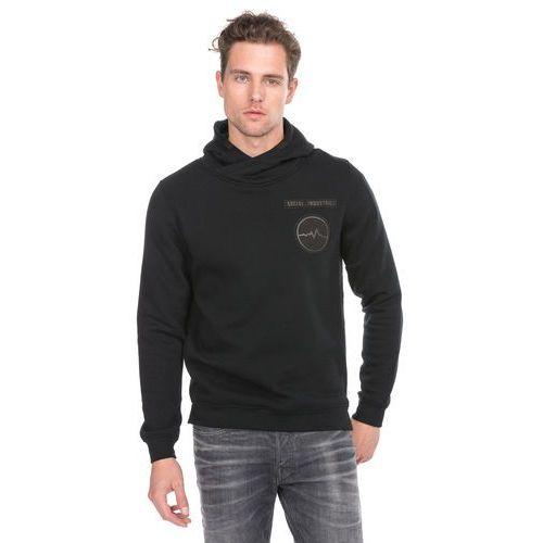 Jack & Jones Badge Sweatshirt Czarny L, 12126172