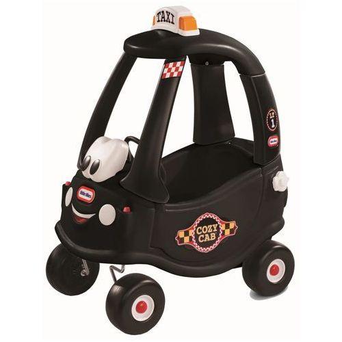 Jeździk czarna taksówka cozy coupe marki Little tikes