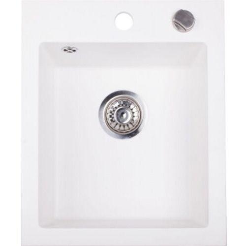 Zlewozmywak Granitowy RIGO biały