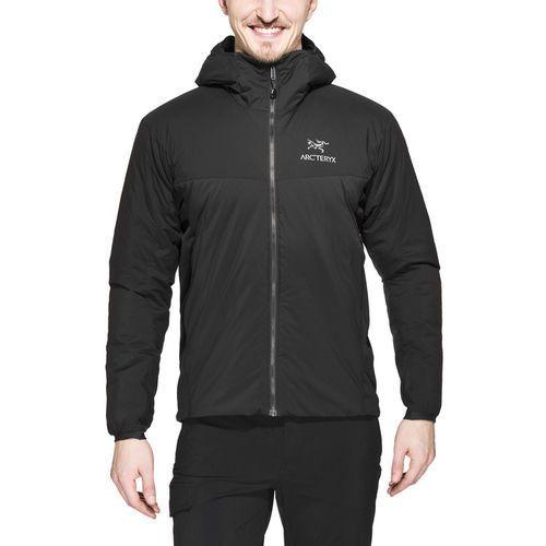 atom lt kurtka mężczyźni czarny l 2018 kurtki zimowe i kurtki parki marki Arc'teryx