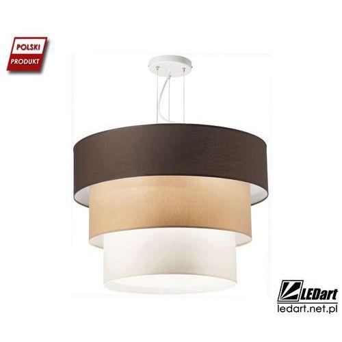 Lampa wisząca LED TORT trzystopniowy