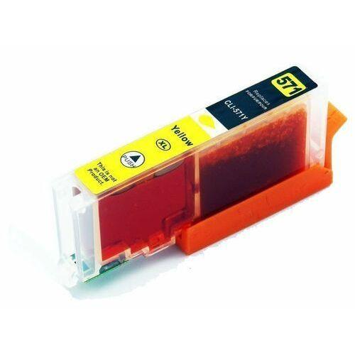 Cli-571xl y yellow (żółty) tusz do canon pixma mg5750 mg6850 mg7750 / 16ml. marki Dd-print