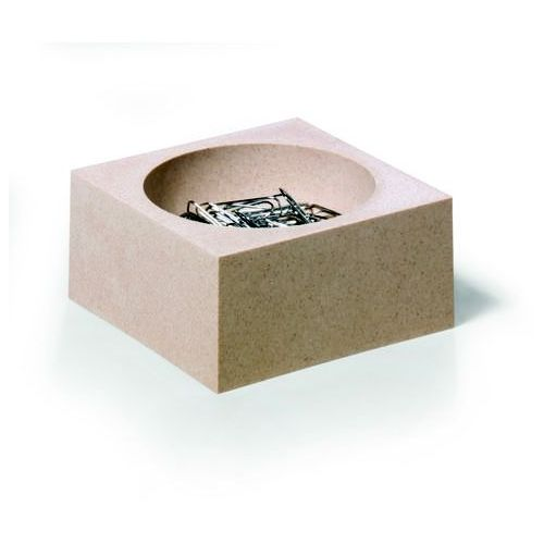 Pojemnik na spinacze CUBO eco beżowy 7743 16 (4005546701035) - OKAZJE