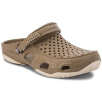 Klapki - swiftwater deck clog m 203981 khaki/stucco, Crocs, 39.5-45.5