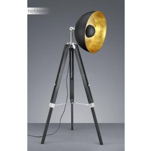 Trio LIÈGE Lampa stojąca Czarny, 1-punktowy - Vintage/Przemysłowy - Obszar wewnętrzny - LIÈGE - Czas dostawy: od 3-6 dni roboczych, kolor Czarny