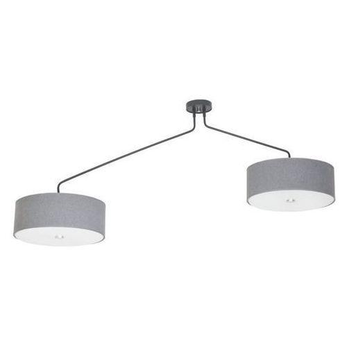 Lampa wisząca HAWK GRAY 6xE27/60W/230V