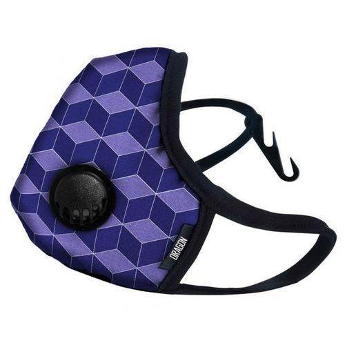 Maska casual purple cube marki Dragon