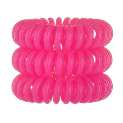 Invisibobble Hair Ring 3szt W Gumka do włosów Pink
