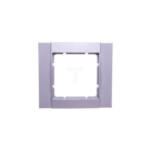 Hager polo B.1 ramka aluminium pojedyncza b.1 10111404