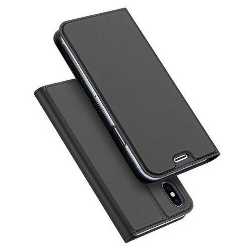 Duxducis Etui skin pro do iphone x grafitowe (6934913094990)